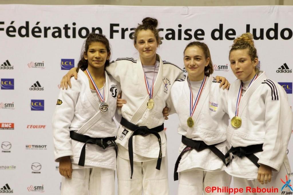 ROUSSEL Camille vice championne de France en -52 kg
